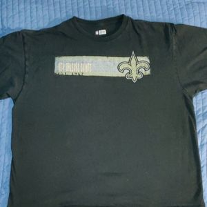 3❤️ for$20. New Orleans Saints Tee Shirt Size XXL